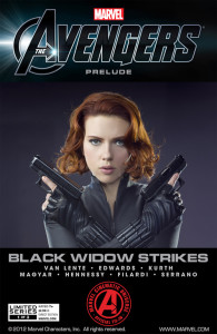 Black Widow Strikes #1