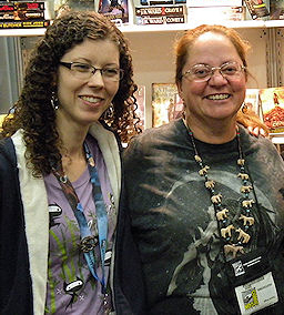 Anne Sowards and Patricia Briggs